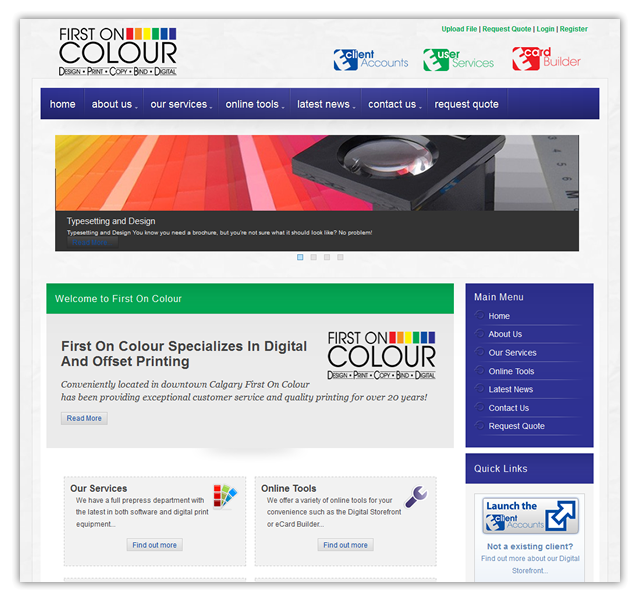 firstoncolour.com - Printing Company